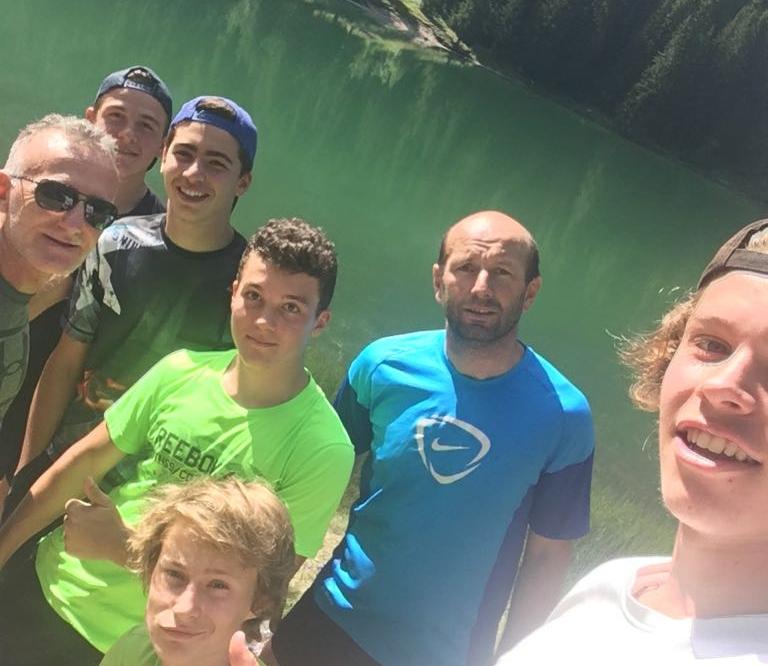 Prép physique au lac